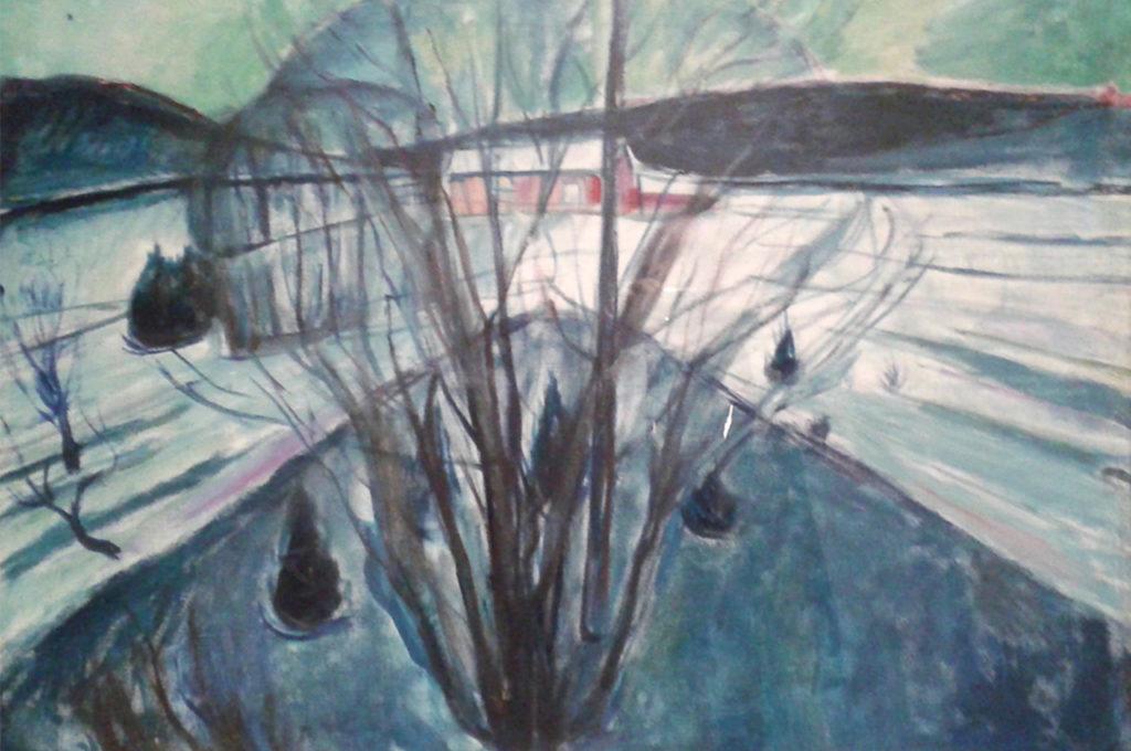 Munch a Bergen • Elio Grazioli
