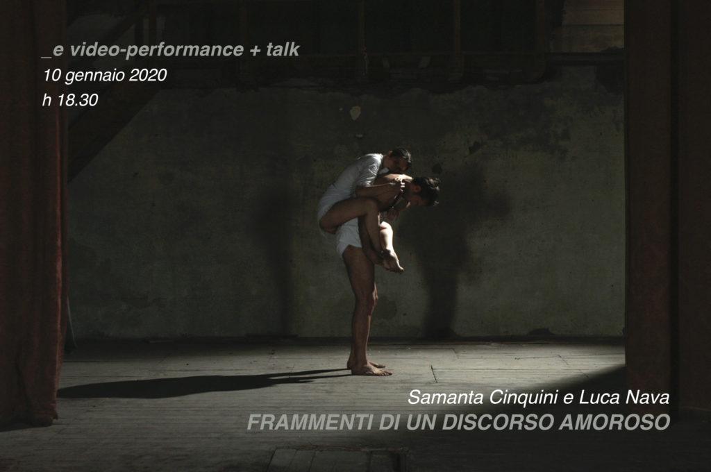 Samanta Cinquini e Luca Nava • Frammenti di un discorso amoroso