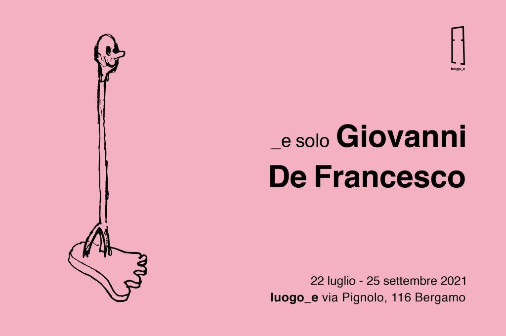 _e solo GIOVANNI DE FRANCESCO